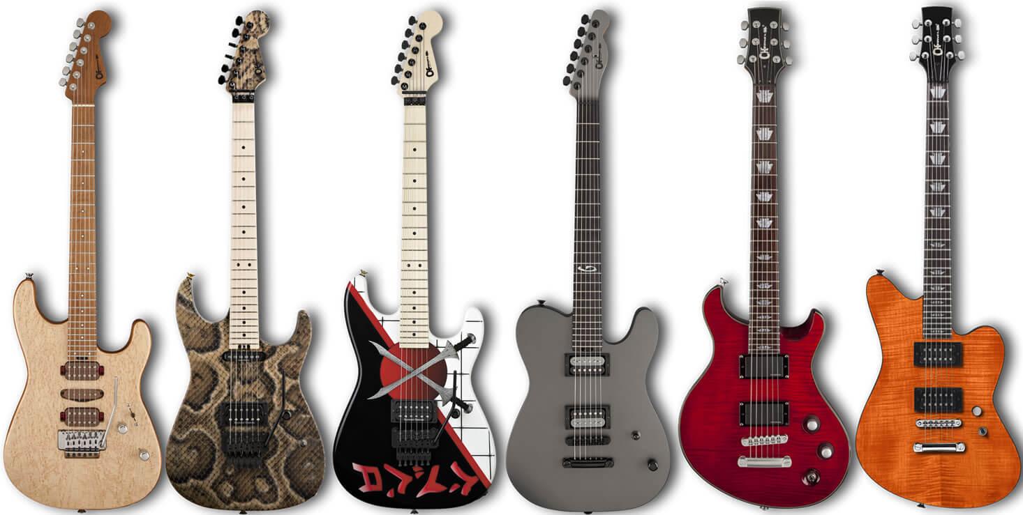 シャーベル(Charvel)のエレキギター