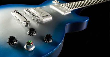 レスポール・タイプのロボットギター