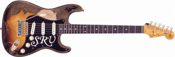 スティーヴィー・レイ・ヴォーンの使用エレキギター