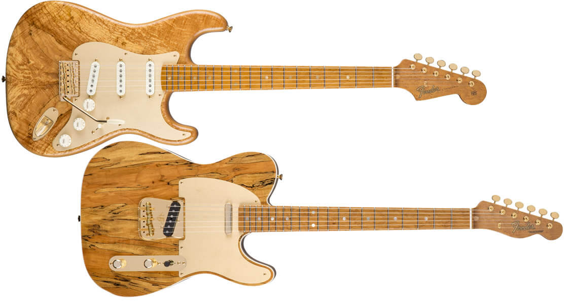 Spalted Maple Artisan Stratocaster