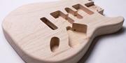 ギターボディ材について