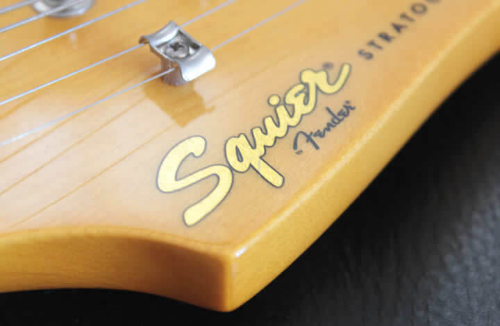スクワイヤーのギター