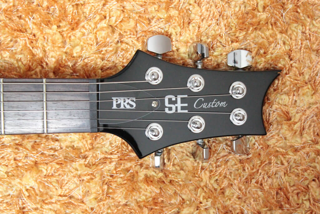 PRS SE Custom24 のヘッド