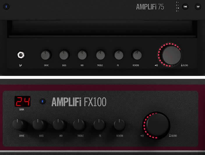 AMPLIFi 75/AMPLIFi FX100:コントロールパネル
