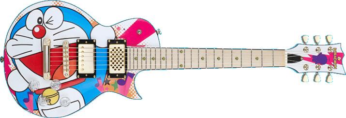 ESP:ドラえもんエレキギター