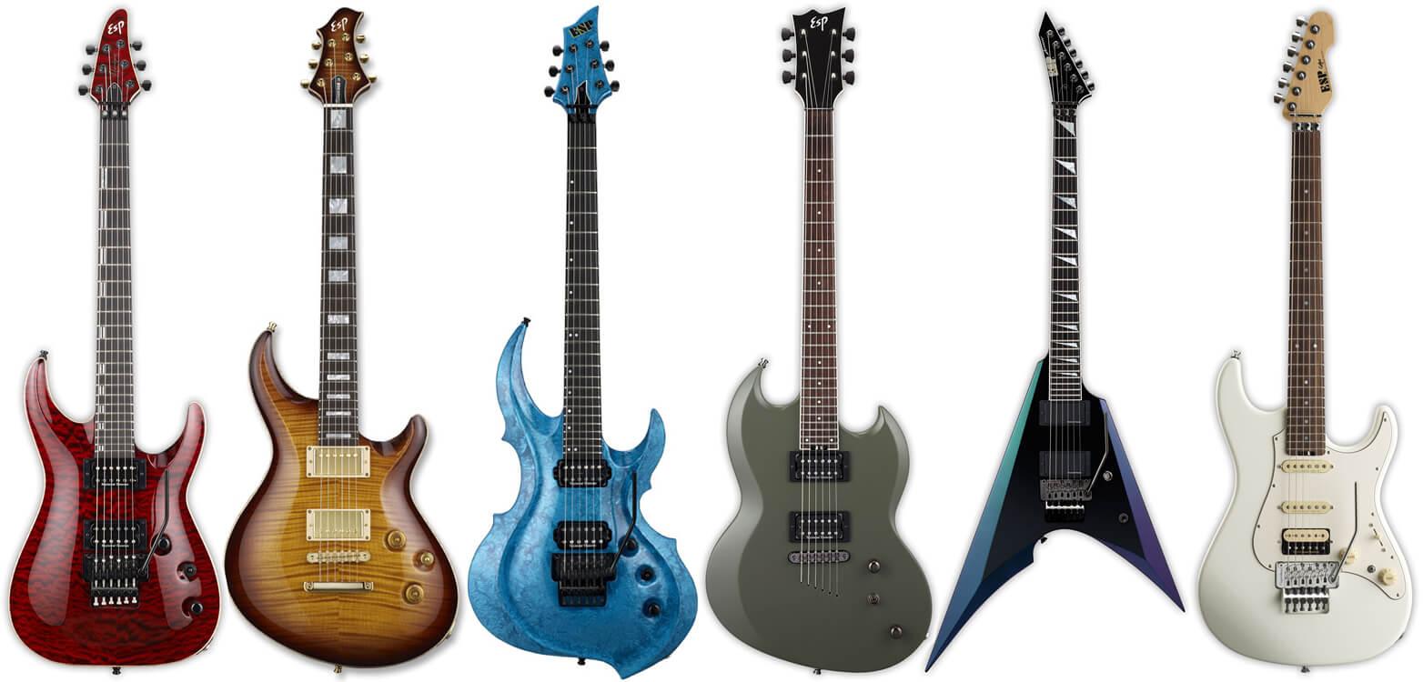 ESPのエレキギター