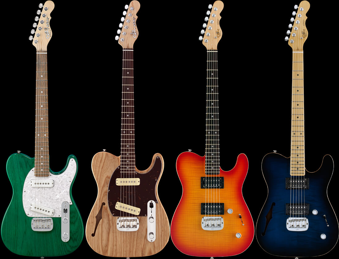 G&L Asat Special/Deluxeシリーズ