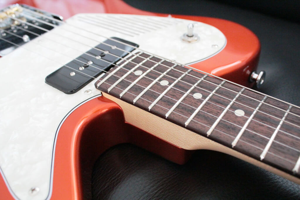 MAGNETO Guitars T-WAVE のネック