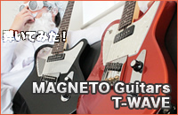 MAGNETO Guitars T-WAVE