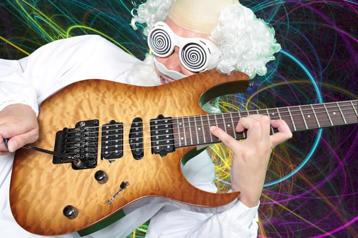 フロイドローズ・タイプのギター