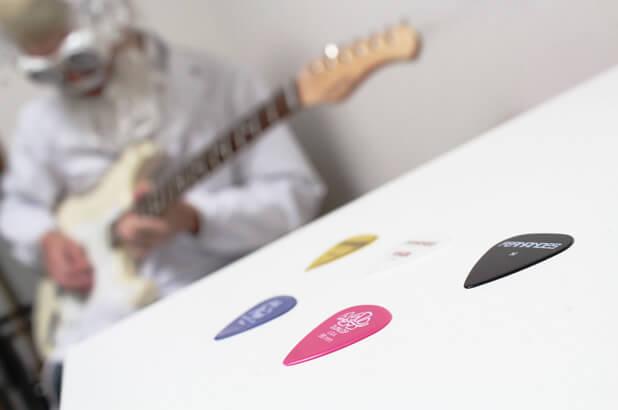 ギター博士のピック比較