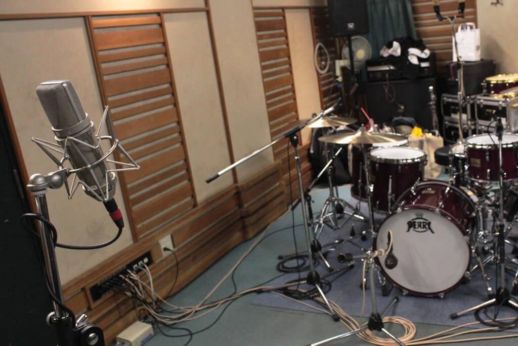 ドラム・エアーマイク