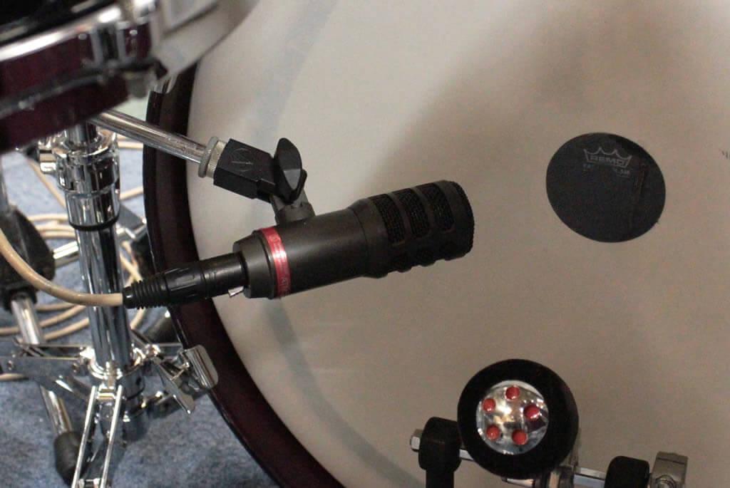 バスドラム(打面側)マイク