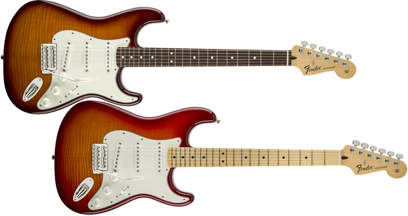 Mexico Standard Stratocaster Plus Top