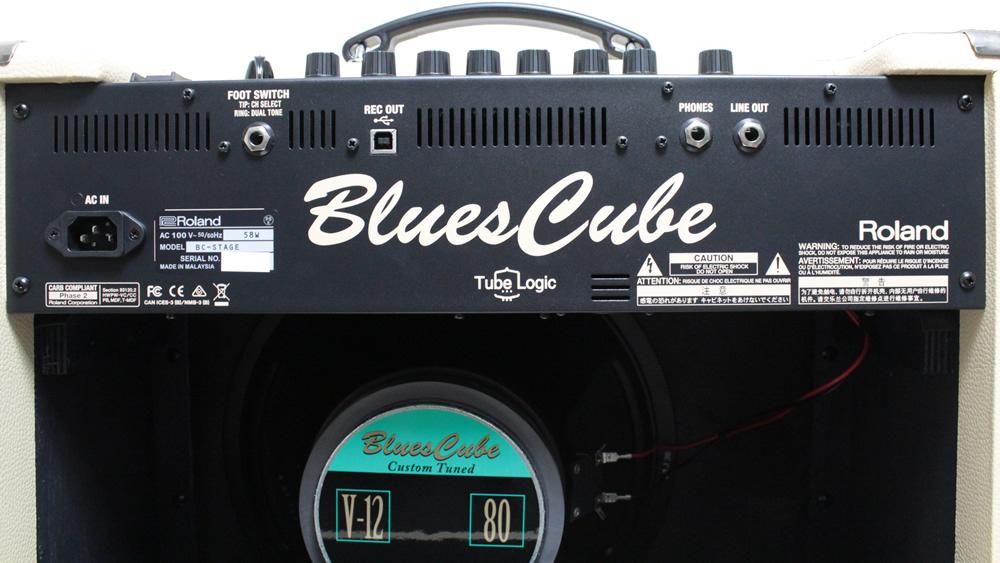 Blues Cube Artist:リアパネル