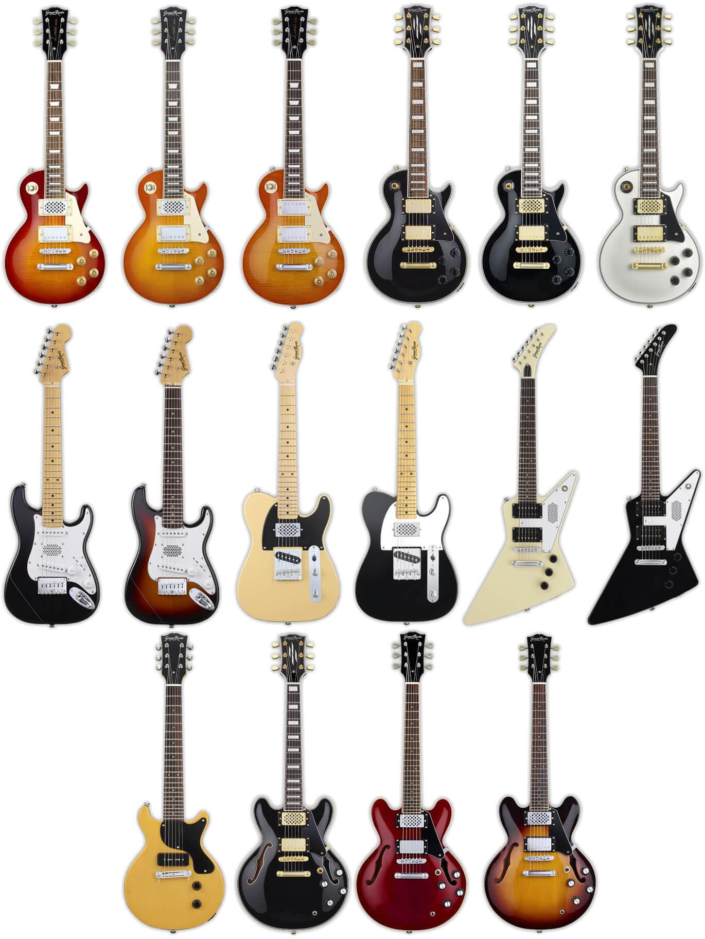 グラスルーツのミニギター