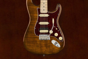 RARITIES FLAME TOP STRATOCASTER