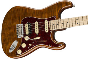 RARITIES FLAME TOP STRATOCASTER:ボディ